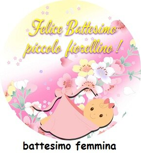 festa battesimo femmina